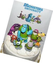 Disney Monsters Inc Deluxe Mini Cake Toppers Cupcake