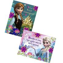 Disney's Frozen Invitation And Thank You  - Party Supplies