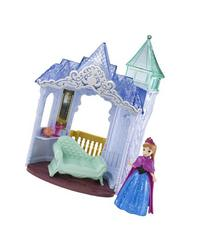 Disney Frozen MagiClip Flip 'N Switch Castle and Anna Doll