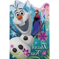 Disney Frozen Birthday Party Thank You Cards Supply , Multi