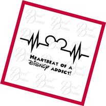 Disney Heartbeat, Disney-inspired Fan Art, Mickey Mouse, MM