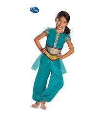 Disney Jasmine Sparkle Classic Kids Costume SMALL