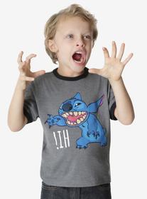 Disney Lilo & Stitch Hi Childrens Ringer Tee