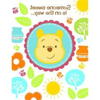 Disney Pooh Little Hunny Bunny Baby Shower Invitations