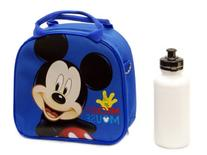 Disney Mickey Mouse Lunch Box Bag with Shoulder Strap and