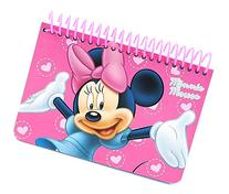 Disney Minnie Mouse Pink Spiral Autograph Book