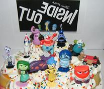 Disney Pixar Inside Out Movie Figure Set Cake Toppers /