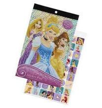 Disney Princess 4 Sheet Sticker Pad 200s  - 200PR