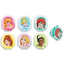 DecoPac Disney Princess Gemstone Princess Cupcake Rings