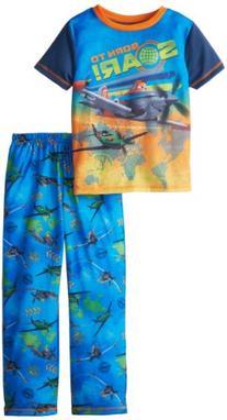 Komar Kids Little Boys' Planes 2 Piece Pant Set, Blue, X-