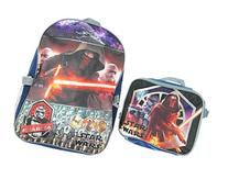 "Disney Star Wars 16"" Backpack With Detachable Matching Lunch"