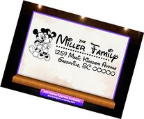 Disney Theme Return Address Custom Rubber Stamp - Style 1266
