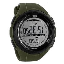 Fanmis Men's Digital LCD Display Military Sports Watch with