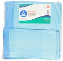 Dynarex Disposable Underpad, 17 inches X 24 inches, 100