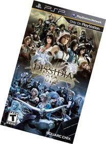 Dissidia 012  Final Fantasy - Sony PSP