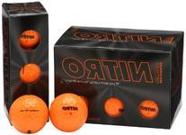 Nitro Maximum Distance Golf Ball , Orange
