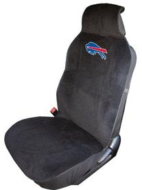 NFL Buffalo Bills Seat Cover, Black, One Size