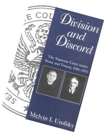 Division and Discord: The Supreme Court Under Stone and