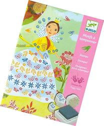 Djeco DJ08783 Stamp Sets- Flower Maidens Playset