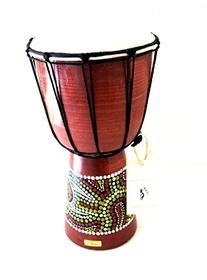 "Djembe Drum Bongo Congo African Drum -MED SIZE- 12"", JIVE"