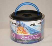Philips 16x 4.7GB 120-Min DVD-R Media 50-Pack