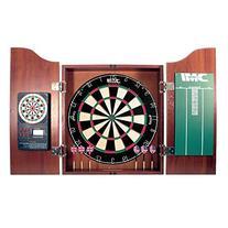 DMI Sports Deluxe Bristle Dartboard Cabinet Set with