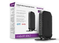 NETGEAR CM400  DOCSIS 3.0 Cable Modem. Max download speeds