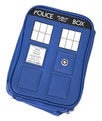 bioWorld Doctor Who Police Tardis Navy Blue Insulated