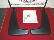 DODGE DURANGO 2011-2012 Rear Deluxe Molded Splash Guards