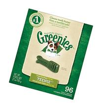 Greenies Dog Dental Chew Treats Teenie 27oz 96ct