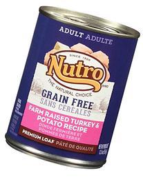 NUTRO LID Adult Farm Raised Turkey and Potato Recipe Canned