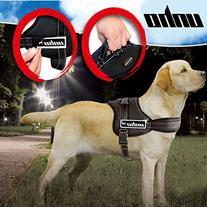 UNHO Dog Body Harness Padded Extra Big Large Medium Small
