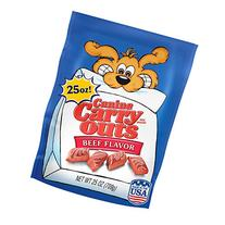 Canine Carry Outs Dog Snacks Beef Flavor 25 OZ