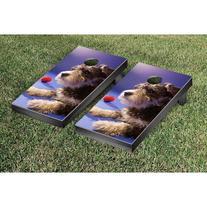 Victory Tailgate Dog Themed Tournament Cornhole Set