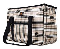 Enjoying Doggie Puppy Carriers Travel Bag Cat Carrier Grid
