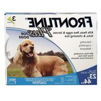 Frontline Plus for Medium Dogs 23-44 lbs 6-doses