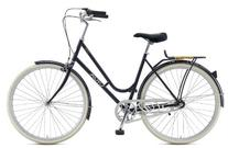 Viva Dolce 3 City Bike, 28 inch Wheels, Women's Bike, Black