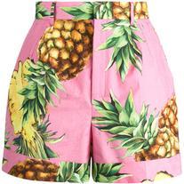 Dolce & Gabbana pineapple print shorts