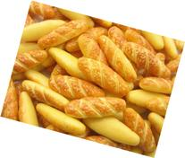 Dollhouse Miniature Food 10 French Baguette Bakery Supply