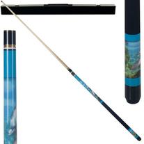 Dolphin Lover Pool Cue w/ Case Dolphin Lover Pool Cue w/