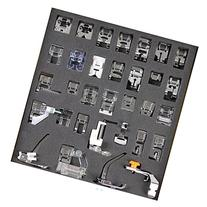 Tinksky 32pcs Domestic Sewing Machine Presser Foot Set for