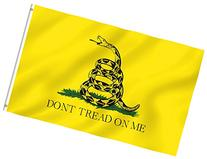 ANLEY®  3x5 Foot Don't Tread On Me Polyester Flag - Vivid