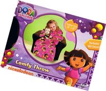 Dora the Explorer Comfy Throw Blanket with Sleeves ~ Toddler
