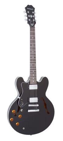 Epiphone DOT ES Style Semi-Hollowbody Electric Guitar, Ebony