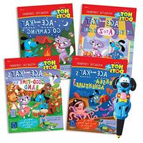 Educational Insights Hot Dots Jr. Interactive Storybooks, 4-