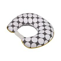 Dots/Pin Stripes Grey/Yellow Nursing Pillow