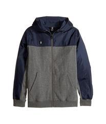 Volcom Kids - Double Down Zip Hoodie   Boy's Sweatshirt
