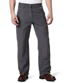Carhartt Men's Double Front Work Dungaree Washed Duck,Gravel