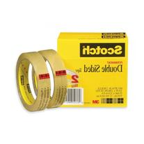 """Scotch Double Sided Tape, 3/4"""" X 1296"""", 3"""" Core, Transparent"""