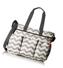 Skip Hop Duo Double Signature Diaper Bag, Chevron